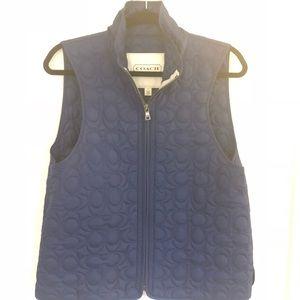 Coach signature vest